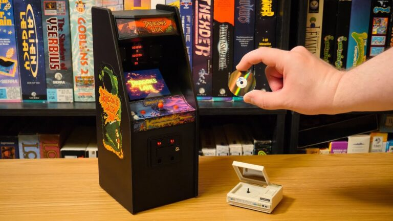 Dragon's Lair Mini Arcade